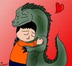 Lake Monster Love by ilbv