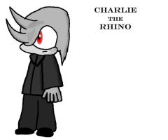 Charlie the Rhino by e-rock95