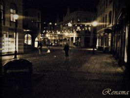 Aalesund by night by Renama