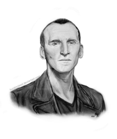 Nine - Christopher Eccleston - Doctor Who by BurdMcLeod