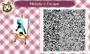 Melody's Escape ACNL QR Code by SpykeXD