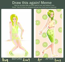 Draw this again - Lemonade by Maddeleinee
