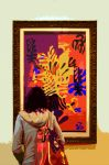 Matisse Exhibition Paper Cutout by aegiandyad