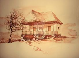 traditional house by dreamsCrEaToR