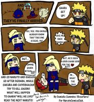 First Naruto Fancomic. by Roseflare