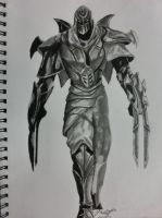 Zed (league of legends) by Randomonium5