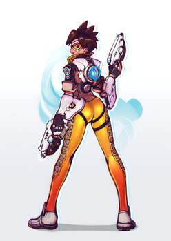 Tracer Lewd by OptionalTypo