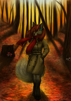 Commission: Autumn by Roukara