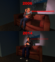 Doom 3. then and now by Samuraiknight-1600