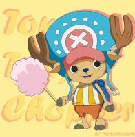Tony Tony Chopper by MonkeyNumber5