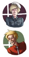 APH: Denmark and Finland busts by deepwoodwayfinder