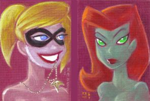 Harley and Ivy BT Style by LEXLOTHOR