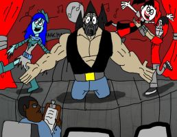 dc high : suicide squad the musical by HINCAPIE319
