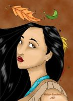 Disney Girls-Pocahontas by Terrizae