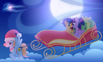 Sleigh ride by RainbowDashie