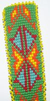 Beaded Barrette by ladytech