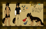 Dodger 2013 reference by TOPAZxWOLF