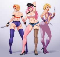 Final Fight Bad Girls by Jiggeh