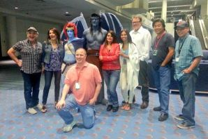 Gargoyles 20th Reunion 2 at Denver Comic Con 2014 by PhoenixForce85