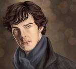 Sherlock Holmes by HungryxHungryxHippos
