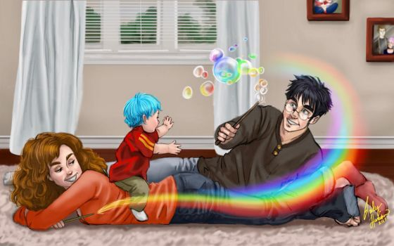 Playtime with Teddy - HP by Asha47110