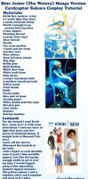 Blue Jester (The Watery) CCS Cosplay Tutorial by maboroshimary
