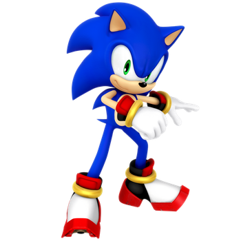 Sonic: Shadow Outfit Render by Nibroc-Rock