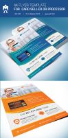 A4 Flyer for Debit Card or Credit Card Seller by adobehero