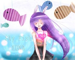 Sky Fish-YUNA-Cover + Speed paint by marina094