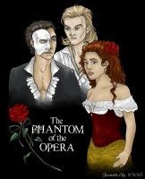 Love Triangle of PotO by ShadowedFate