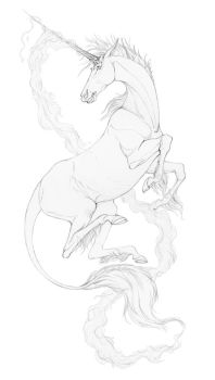 Drawing: Ardent by brightredrose