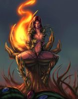 Witchblade colors by vic55b