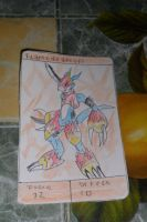 Flamedramon by antoniocezar