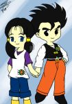 Gohan and Videl HM 2 by Gohan-x-Videl