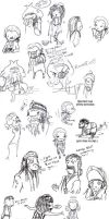 POTC: AWE sketch dump 3 by OhSadface