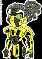 Cyrax by DeVanceArt