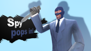 Smash Bros Newcomer Spy by ZeFrenchM