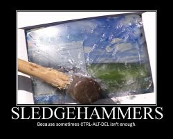 Sledgehammers by Scavgraphics