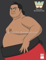 WWE Fallen Superstars: Yokozuna by EadgeArt