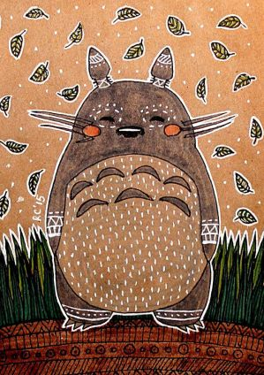 Totoro by RedCloudlet