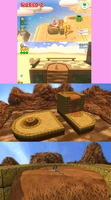 Super Mario 3D World x Second Life Conkdor Canyon by RazorVolare