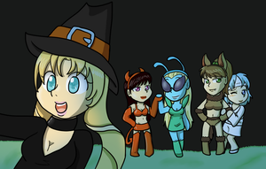 SM Halloween 2014 by Sixala