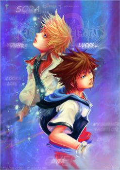 KH2 : My vacation is over ... by noei1984