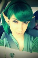 Saria LoZ OOT Cosplay by underreigns