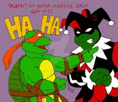 TMNT: Raph Up Your Harley by xero87