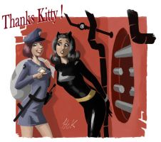 Thanks Kitty by artist2point5