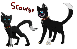 Scourge Design Collab by Swift-The-Kitty