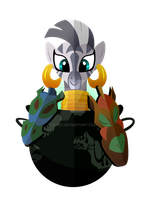 The Zebra Herbalist: Zecora by Ilona-the-Sinister