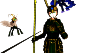 MMD LOKI ...:WHAT SHOULD I NAME THIS PLACE?:... by rougefannest