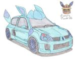 Renault Clio V6 Glaceon Ed. by Sir-Genesis